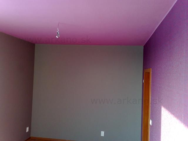 maliarske práce - malovanie spálne, tapetovanie