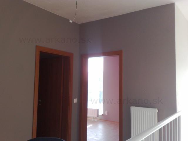 malovanie chodby - maliarske práce