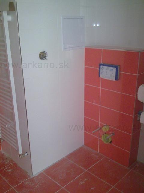 obklady a dlažby v kúpelke - obkladanie, dláždenie