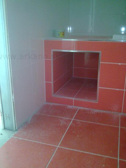 rekonštrukcia kúpelne - obklady a dlažby