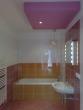 rekonštrukcia kúpelne - osadenie vane, umývadla, wc, obklady, dlažby, montáž sadrokartónu